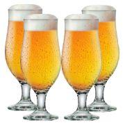 Jogo Taças Cerveja Conjunto Royal Beer 330ml Kit 4 Peças
