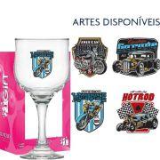 Taça Cerveja de Vidro Barcelona Motors 300ml