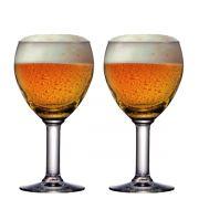 Taça Cerveja Vidro Abadia 210ml 2 pcs