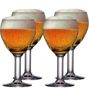 Taça Cerveja Vidro Abadia 210ml 4 pcs