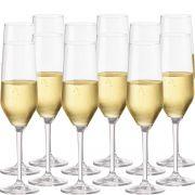 Taça Champagne Jogo Taça Champanhe Elegance 260ml Kit 12pc