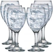 Taça de Água e Vinho Roma Vidro 300ml 6 Pcs