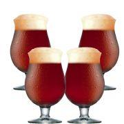 Taça de Cerveja Belgian de 415ml 4 pcs