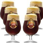 Taça de Cerveja Cristal Baden Baden Bock 400ml 6 pcs