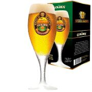 Taça de Cerveja Cristal Baden Baden Golden 320ml