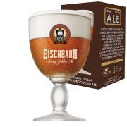 Taça de Cerveja Cristal Eisenbahn Strong Golden Ale 460ml