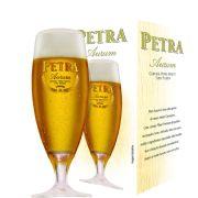 Taça de Cerveja Cristal Petra Aurum 290ml