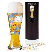 Taça de Cerveja Vidro Ritzenhoff Wheatbeer Buro Fur Form 2011 500ml