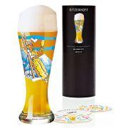 Taça de Cerveja Vidro Ritzenhoff Wheatbeer Glasstim Davies 2010 500ml