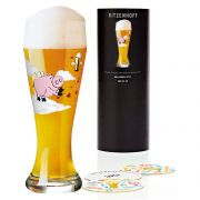 Taça de Cerveja Vidro Ritzenhoff Wheatbeer Ramona Rosenkranz 2012 500ml