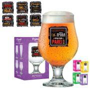 Taça de Cerveja Vidro Funny Beer Master 380ml