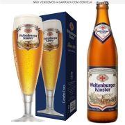 Taça de Cerveja Cristal Weltenburguer Anno 1050 400ml