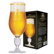 Taça de Cristal para Cerveja Baden Baden Brasão Relevo de 360ml