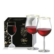 Taça de Cristal para Vinho Bordeaux Gran de 675ml 2 pçs