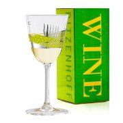 Taça de Vinho Branco Cristal Ritzenhoff Whitewine Glass Daniela Melazzi 2008 200ml
