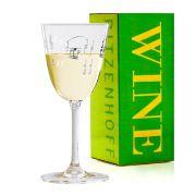 Taça de Vinho Branco Cristal Ritzenhoff Whitewine Glassitamar  Harari 2009 200ml