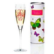 Taça para Prosecco Cristal Ritzenhoff Glass  Juliane  Breitbach 2006 160ml