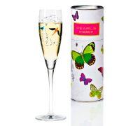 Taça para Prosecco Cristal Ritzenhoff Glass Philip Argent 2012  160ml
