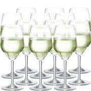 Taça Vinho - Branco Elegance De 375ml C/ 12 Unid