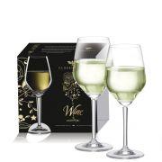Taça Vinho Branco - Elegance de Cristal com 370ml - 2 pçs