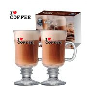 Tacas Barista I Love Coffee 2 Pcs C/ Emb Unit