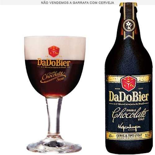 Taça de Cerveja Cristal Dado Bier Double Chocolate Stout 390ml