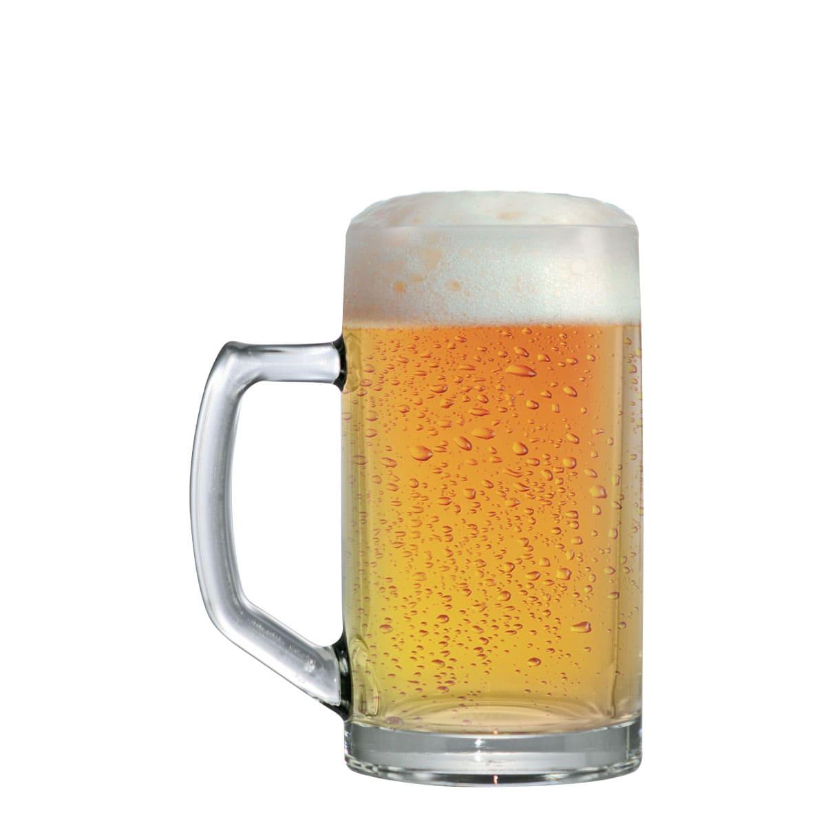 Caneca Cerveja Chopp Vidro Brema G 500ml