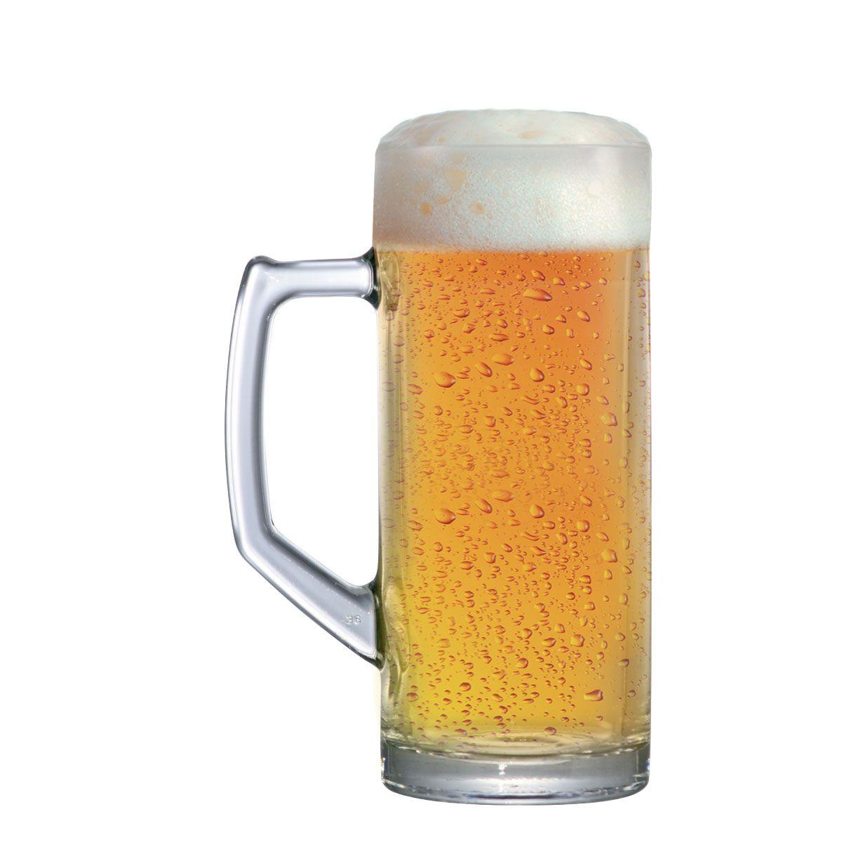 Caneca Cerveja Chopp Vidro Reno G 650ml