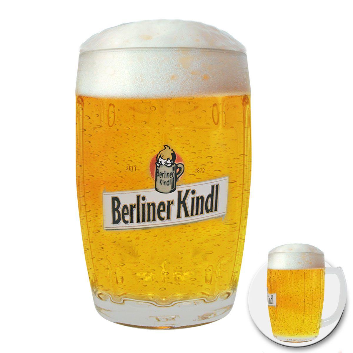 Caneca de Chopp Berliner KindI 410ml