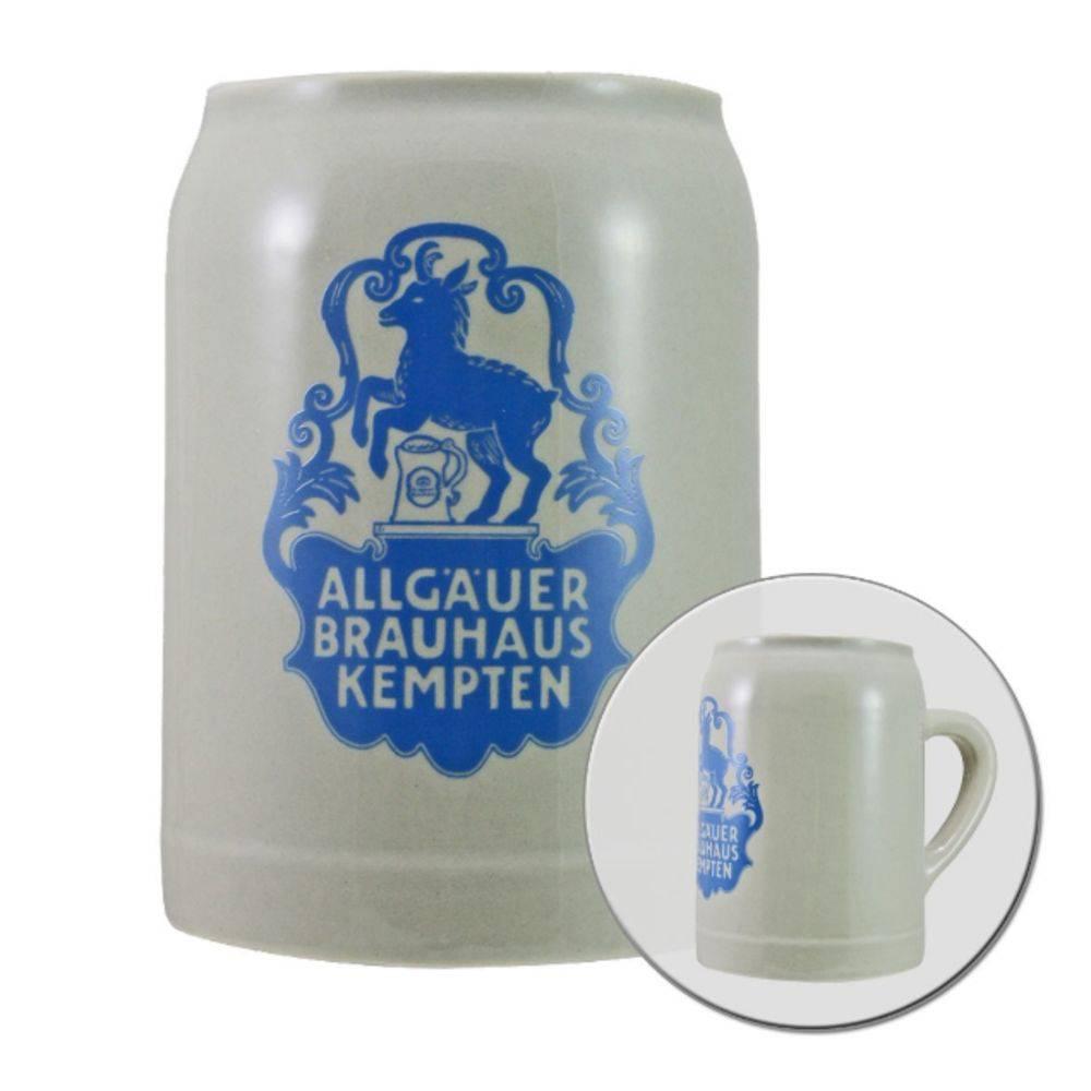 Caneca de Chopp Cerveja Allgauer Brauhaus Ceramica 500ml