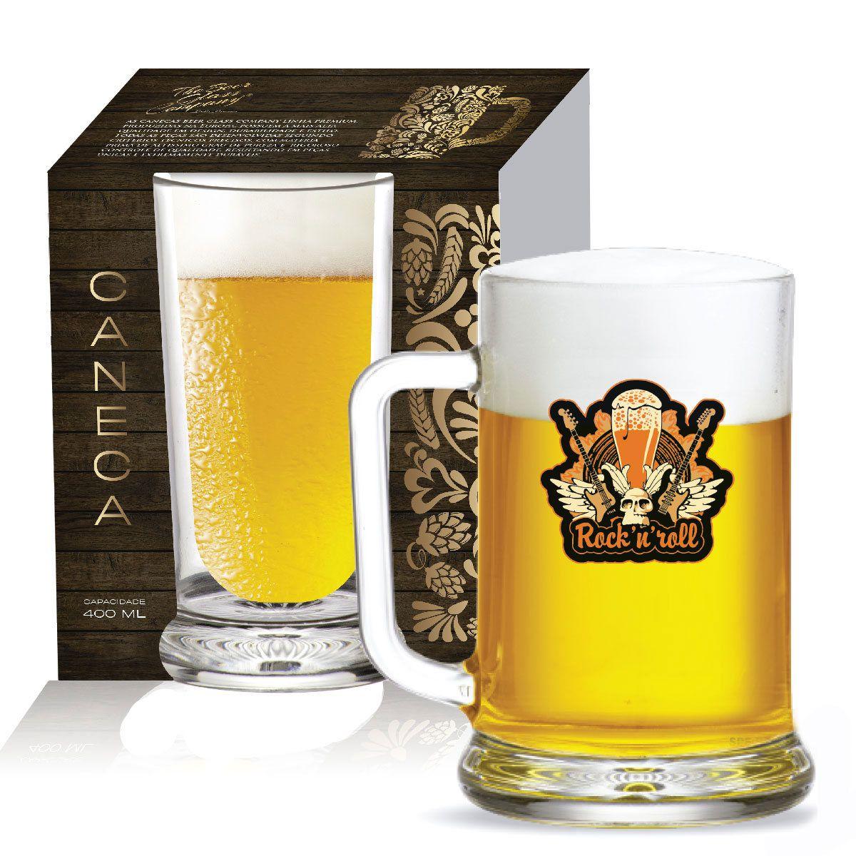 Caneca de Chopp Cerveja Vidro Chopp Star de 670ml