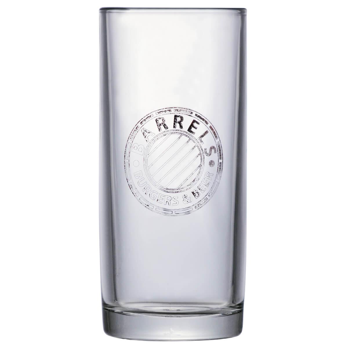 Caneca de Chopp de Vidro ou Cerveja Barrels 300ml