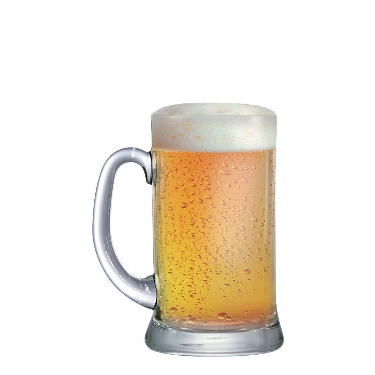 Caneca de Chopp ou Cerveja de Vidro Bavaria M