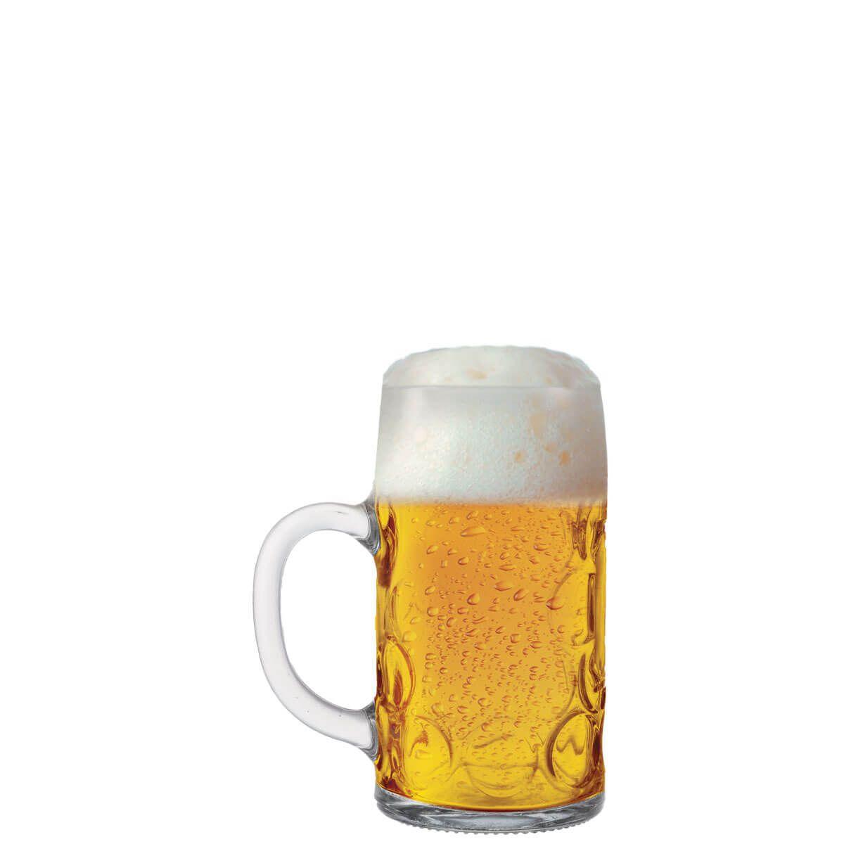Caneca de Chopp de Vidro ou Cerveja Mass Krug Mini 50ml