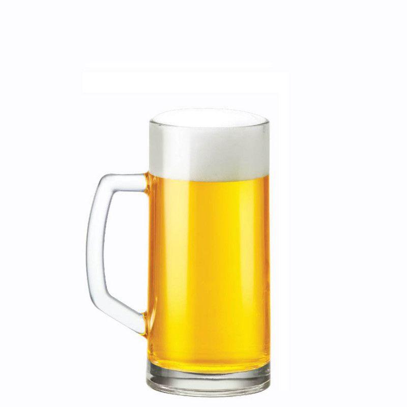 Caneca de Chopp de Vidro ou Cerveja Vidro Berna Lisa M 385ml