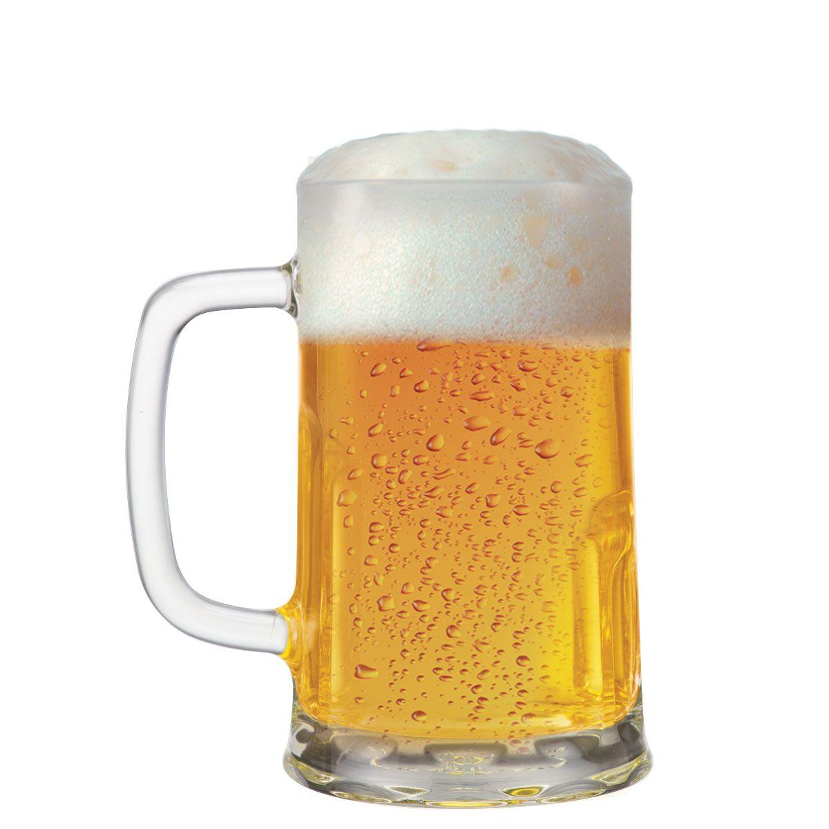 Caneca de Chopp ou Cerveja Vidro Tudor G 680ml