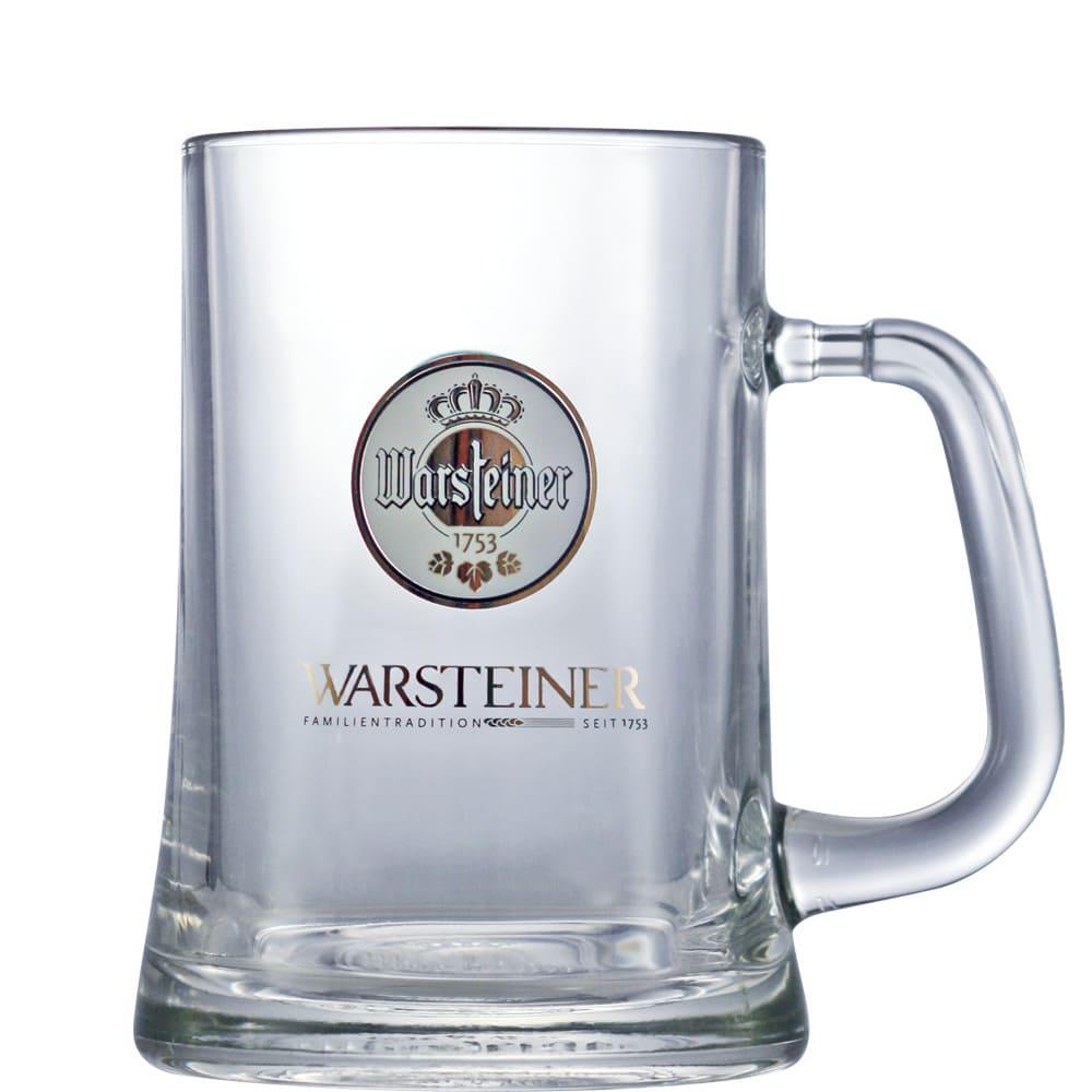 Caneca de Chopp Warsteiner 670ml Coleção Cervejas do Mundo