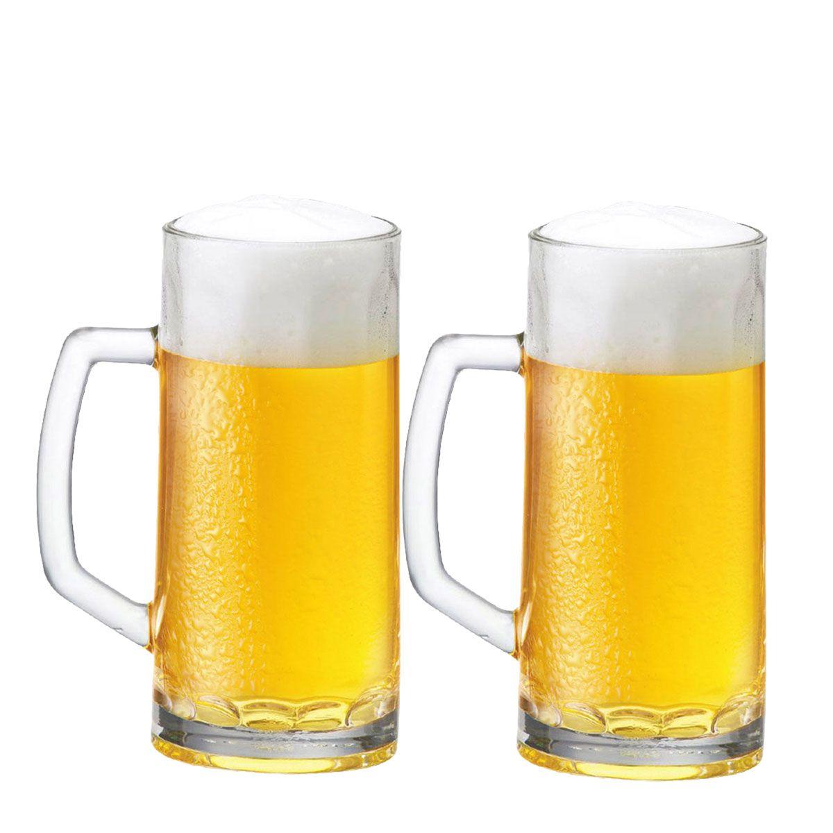 Canecas Cerveja Chopp - Berna Canelada M 385ml C/ 2 Unid