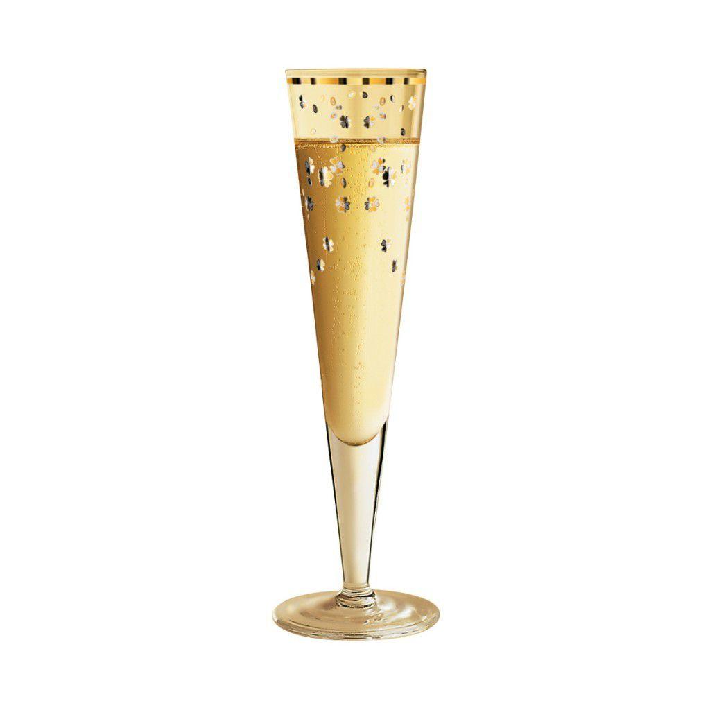 Taça de Champanhe Cristal Ritzenhoff Glass Debora  Jedwab  2010 200ml