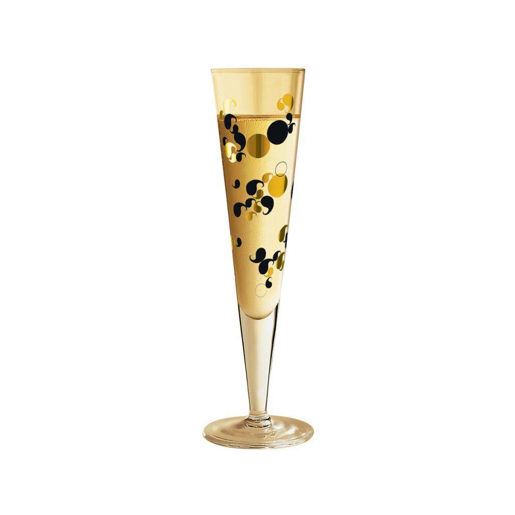 Taça de Champanhe Cristal Ritzenhoff Glass Helen  Kontouris 2010 200ml