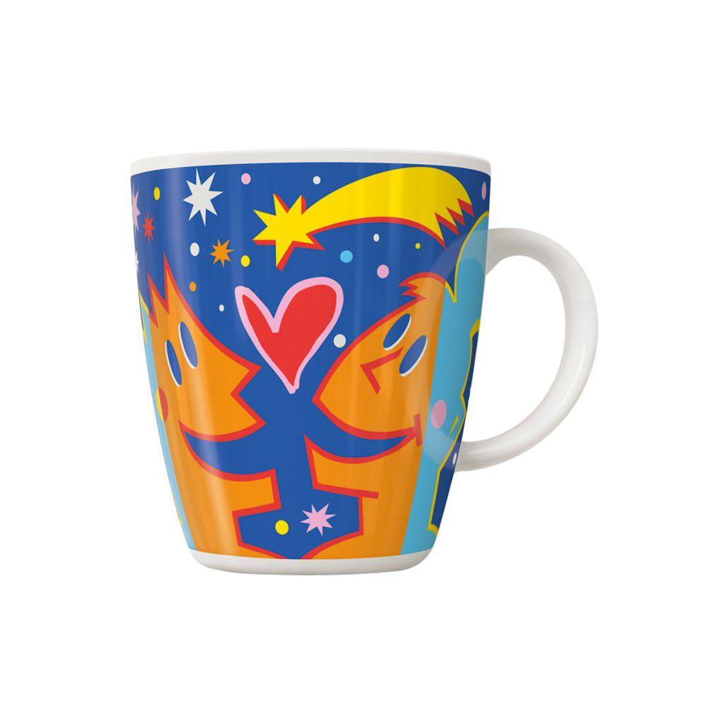 Xícara de Café Ritzenhoff Coffee Mug  Davies 20Th Anniversary 300ml