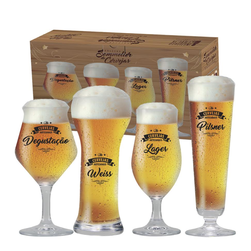 Conjunto Beer Sommelier Cervejas Claras - Coleção Sommelier de Cerveja