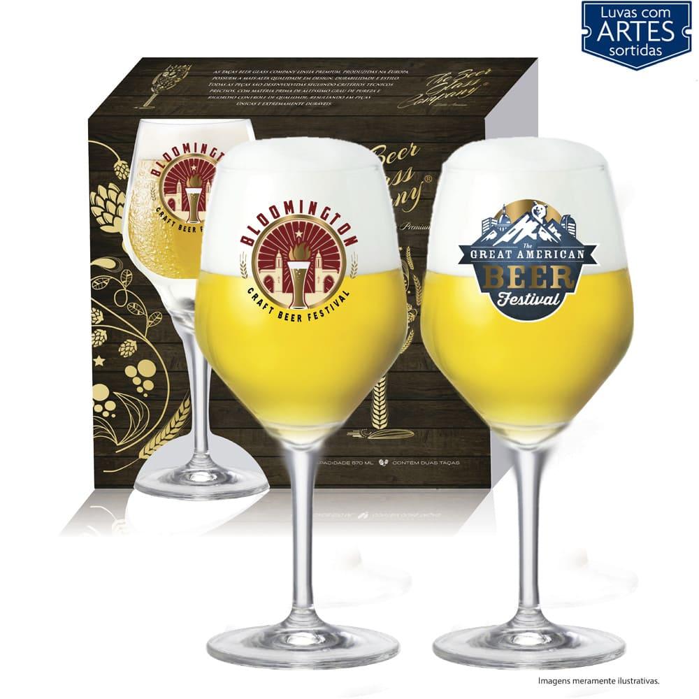 Conjunto de Taça de Cristal para Cerveja Beer Sommelier Elegance de 570ml 2 pcs