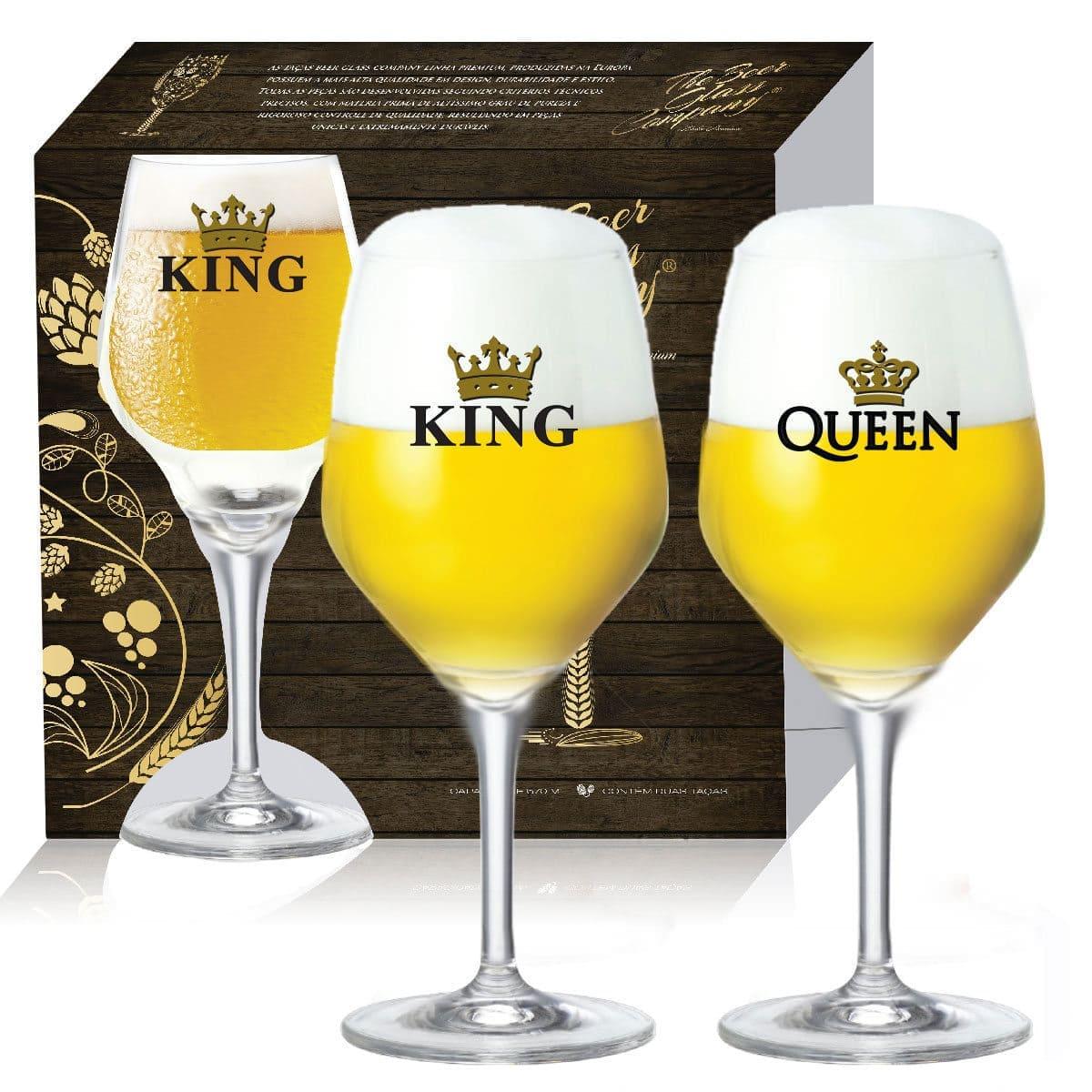 Conjunto de Taça de Cristal para Cerveja Beer Sommelier Elegance de 615ml 2 pcs