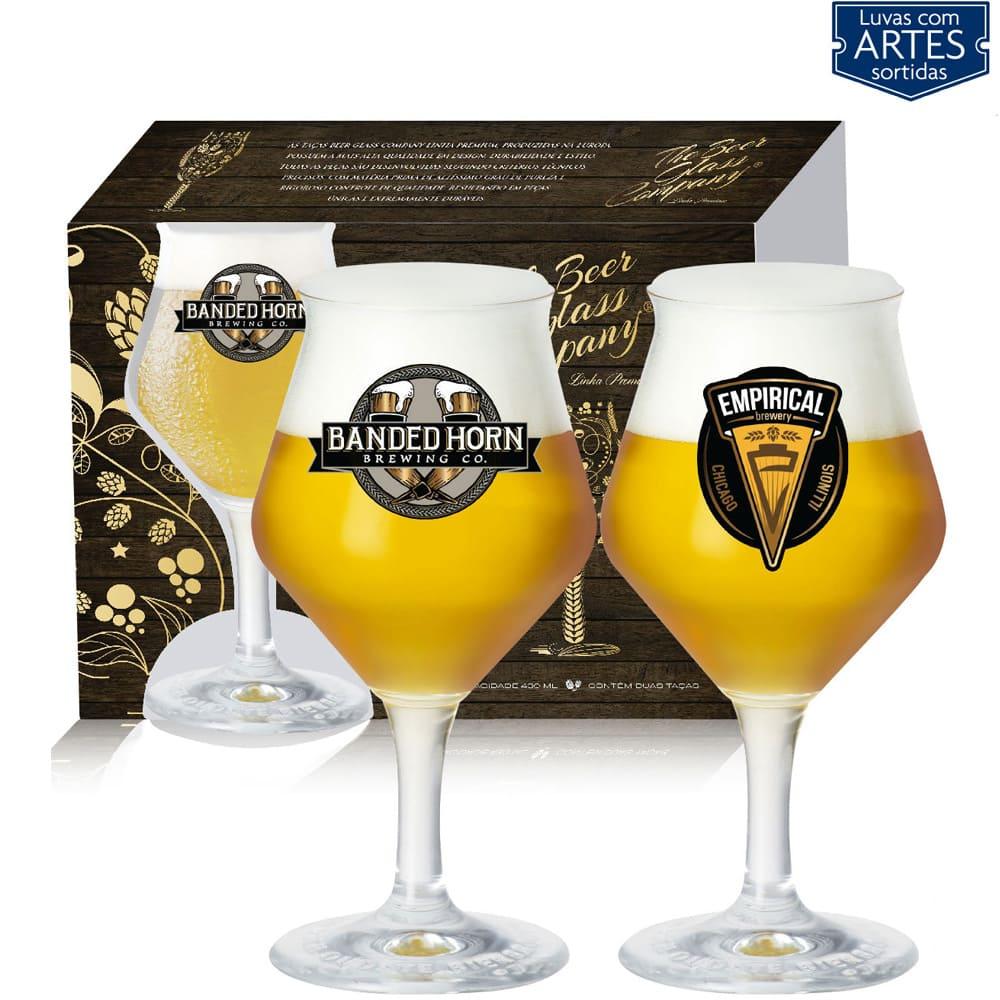 Conjunto de Taças para Cerveja Beer Sommelier 2 pcs