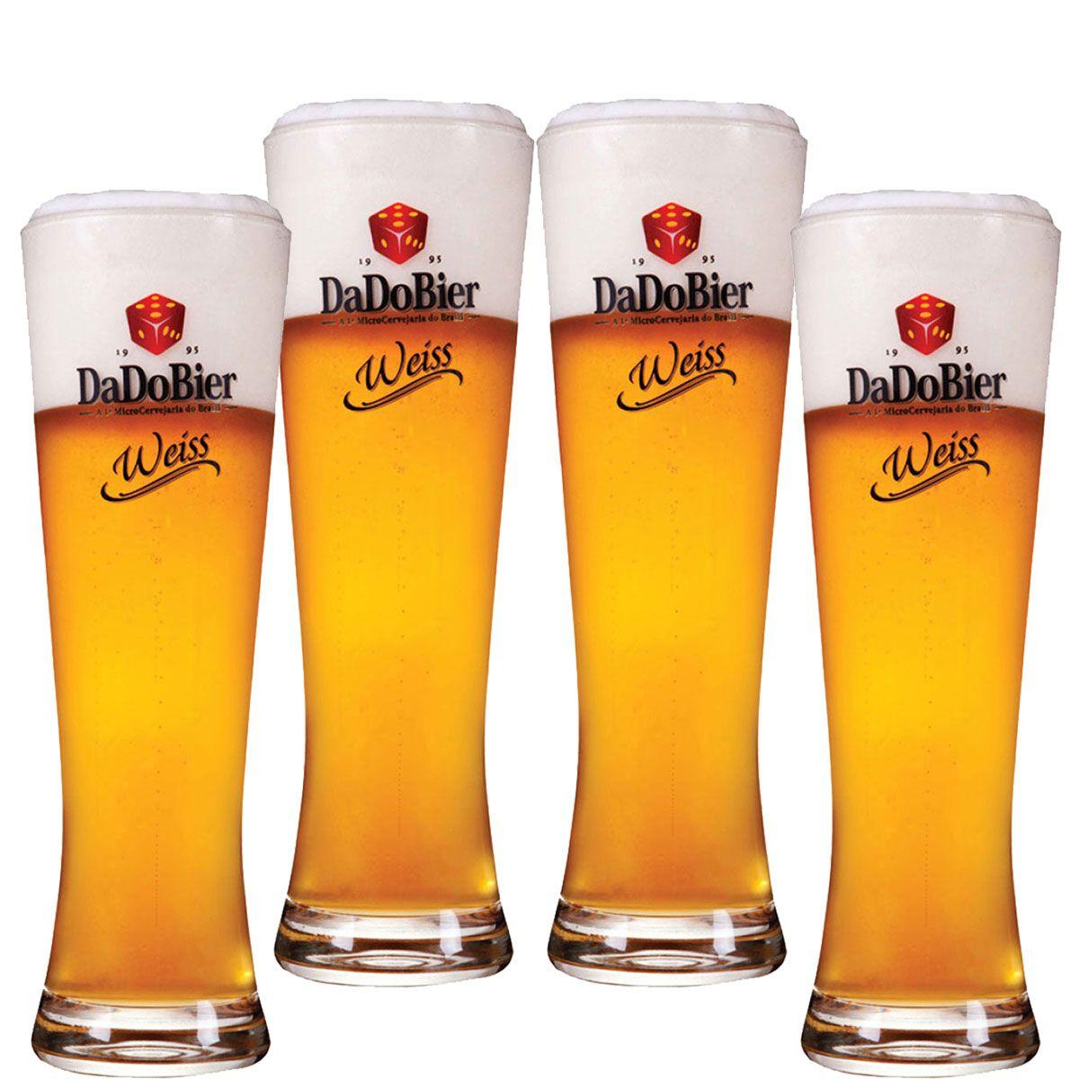 Copos De Cerveja - Dado Bier Weiss 720ml c/ 4 Pcs
