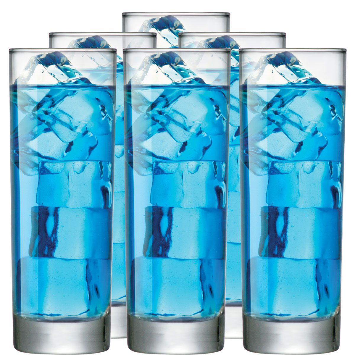 Jogo de Copo de Água ou Suco Tubo 300ml 2 Pcs