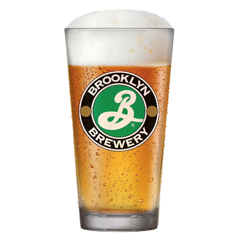 Copo Cerveja Americana Brooklyn Brewery Lager Vidro Pint 450ml