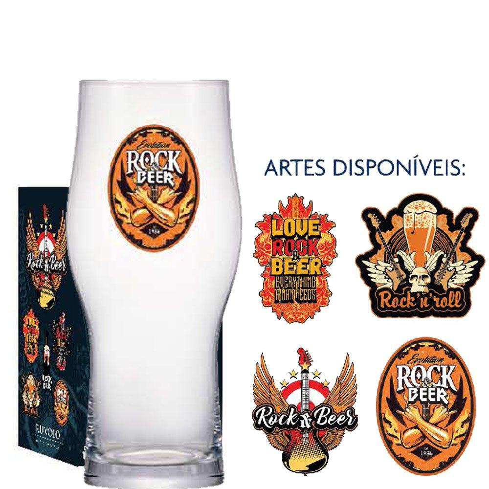 Copo Cerveja de Vidro Craft Master Two 485ml