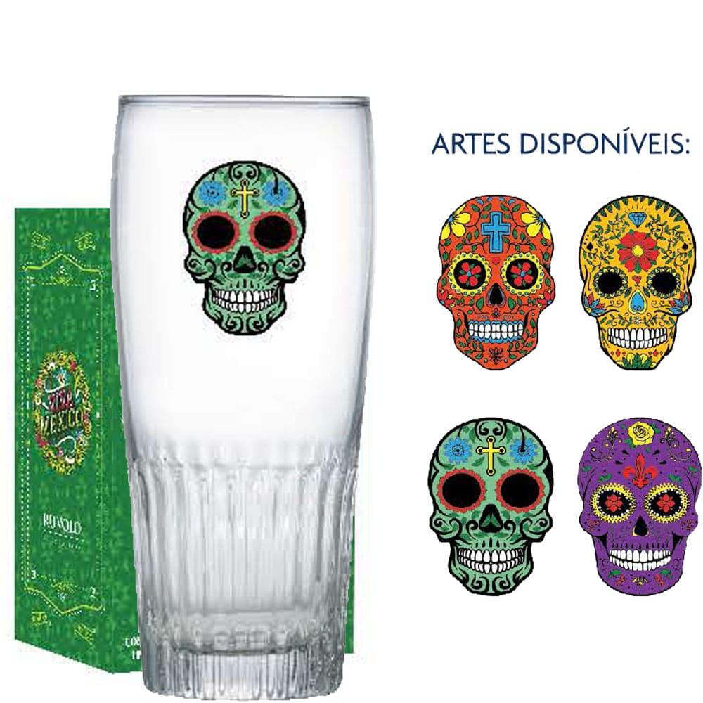 Copo Cerveja de Vidro Paloma G Mexican Style 390ml